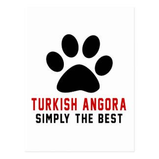 My Turkish Angora Simply The Best Postcard