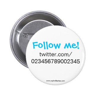 My Twitter Tee - Buttons