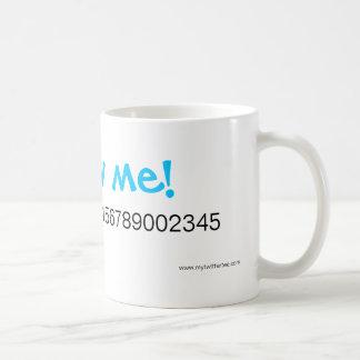My Twitter Tee - Drinkware Coffee Mug