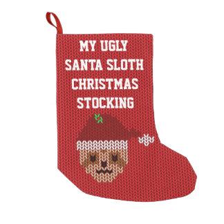 My Ugly Santa Sloth Christmas Stocking