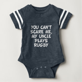 My Uncle Plays Rugby Baby Bodysuit