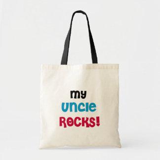 My Uncle Rocks Tote Bags