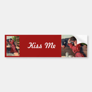 My Valentine Bumper Sticker