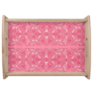 """My Vanity"" Tropical Pink* Serving Tray"
