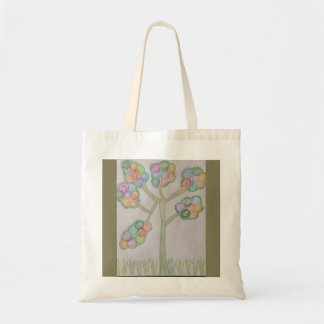 My very colorful tree tote bag