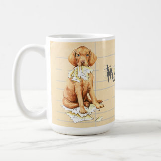 My Vizsla Ate my Homework Coffee Mug