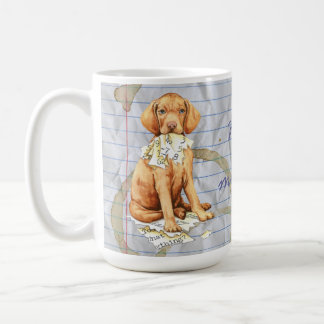 My Vizsla Ate my Lesson Plan Coffee Mug