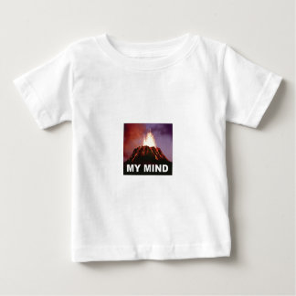 my volcano mind baby T-Shirt