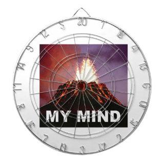 my volcano mind dartboard