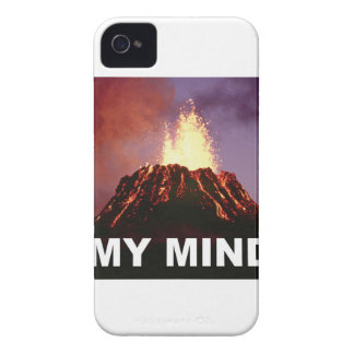 my volcano mind iPhone 4 covers