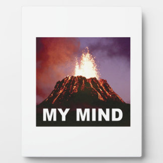 my volcano mind plaque