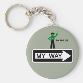 My Way - Go For It! Key Ring