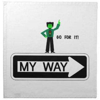 My Way - Go For It! Napkin