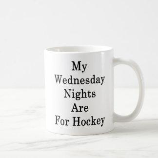 My Wednesday Nights Are For Hockey Coffee Mug