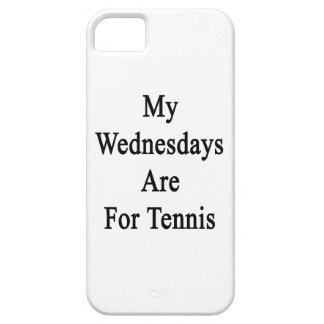My Wednesdays Are For Tennis iPhone 5 Cover