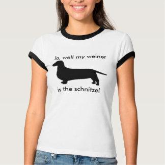 My weiner is the schnitzel Girls T-Shirt