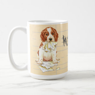 My Welsh Springer Ate My Homework Coffee Mug