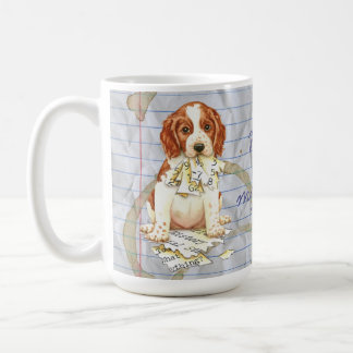 My Welsh Springer Ate My Lesson Plan Coffee Mug