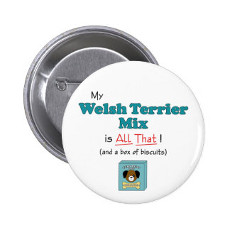 My Welsh Terrier Mix is All That! Pin