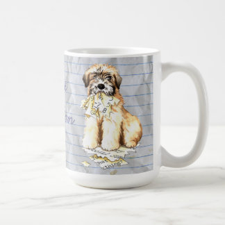 My Wheaten Ate My Lesson Plan Coffee Mug
