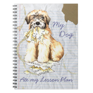 My Wheaten Ate My Lesson Plan Notebooks