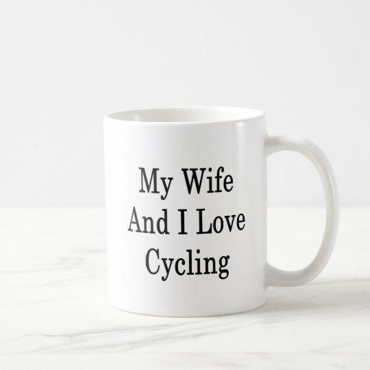 My Wife And I Love Cycling Coffee Mug