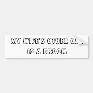 My Wife Bumper Sticker