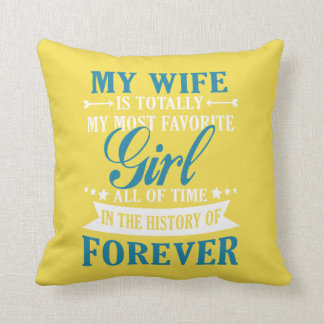 My Wife Forever Cushion