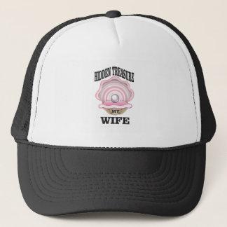 my wife hidden treasure yeah trucker hat