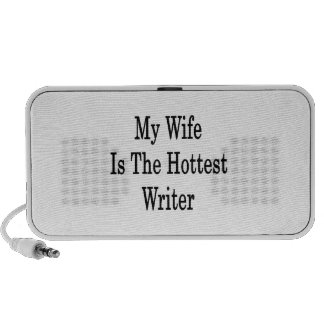 My Wife Is The Hottest Writer Portable Speakers