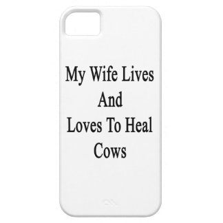 My Wife Lives And Loves To Heal Cows iPhone 5 Cases
