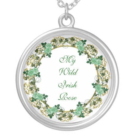 My wild Irish Rose Necklace