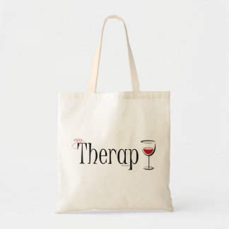 My (Wine) Therapy Tote Bag