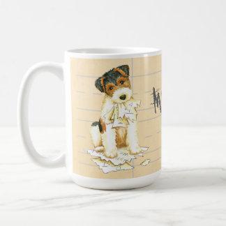 My Wire Fox Terrier Ate My Homework Coffee Mug
