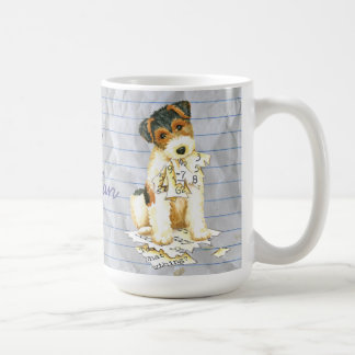 My Wire Fox Terrier Ate My Lesson Plan Coffee Mug