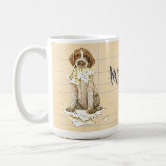 My Wirehaired Pointing Griffon Ate My Homework Coffee Mug