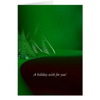 """My Wish to You"" Trees Wish Card"