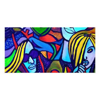 My Women A by Piliero Custom Photo Card