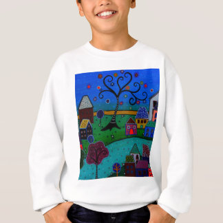 MY WONDERFUL WHIMSICAL TOWN SWEATSHIRT