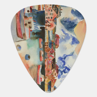 My world as I see it Guitar Pick
