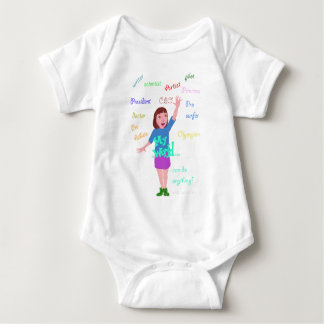 My World I can do anything Baby Bodysuit