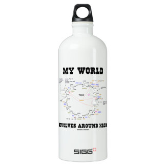 My World Revolves Around Krebs (Energy Cycle) SIGG Traveller 1.0L Water Bottle