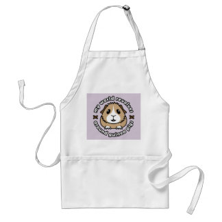My World Revolves...Guinea Pig Apron