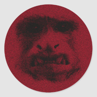 My Worry Face - static Round Sticker