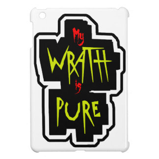 My WRATH is PURE iPad Mini Covers
