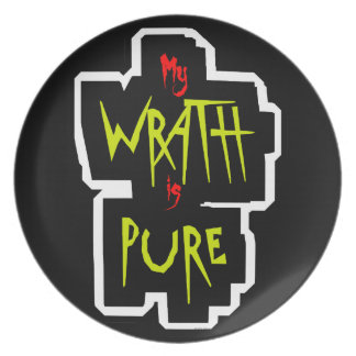 My WRATH is PURE Plate