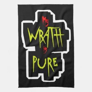 My WRATH is PURE Tea Towel