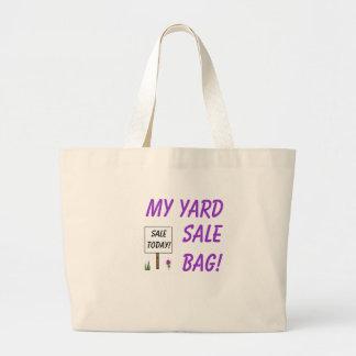 MY YARD SALE BAG! JUMBO TOTE BAG