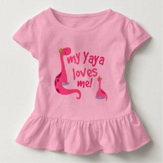 My Yaya Loves Me Dinosaur Toddler T-Shirt