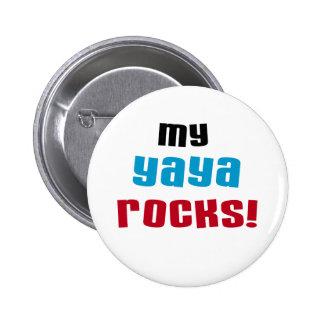 My Yaya Rocks T shirts and Gifts Pins